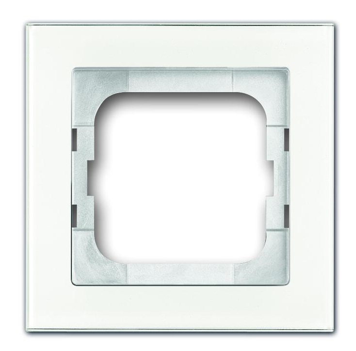 frame white glass